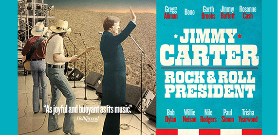 JIMMY CARTER: ROCK AND ROLL PRESIDENT movie poster