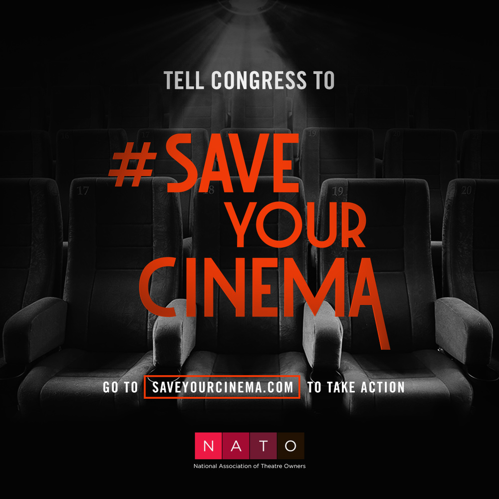 Link to sign petition to Congress, to Save Your Cinema